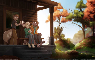 Autumn Morning by Twokinds