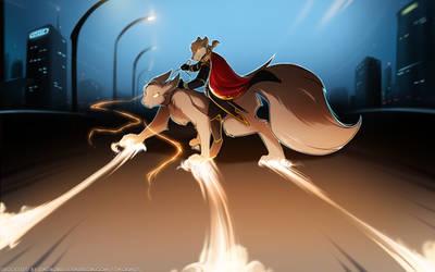 Squirrel Rider