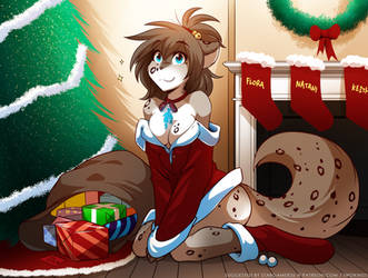 Christmas Kat by Twokinds
