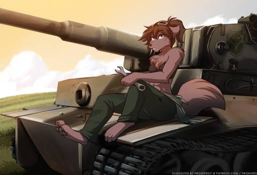 Tank Mechanic Natani