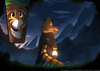 Lights on the Mountain by Twokinds