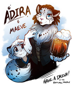 Adira and Maeve Portrait by Twokinds