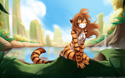 Flora Mountain Spring by Twokinds