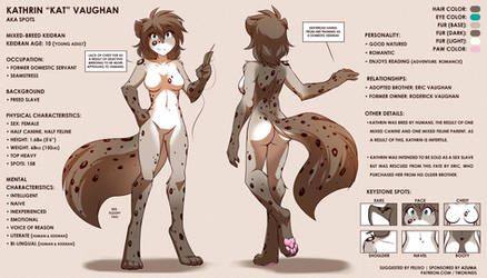 Kathrin Ref Sheet by Twokinds