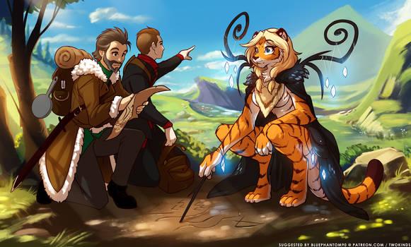 Exploring Tiger Lands