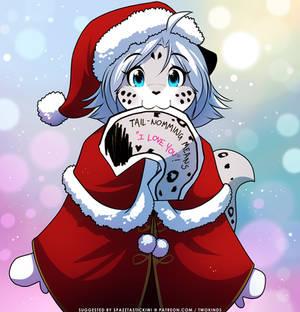 Maeve Christmas Card