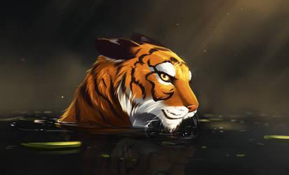 Tiger - Paint Practice