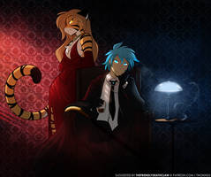 Mafia Boss Trace and Flora
