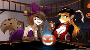 Halloween Flirting