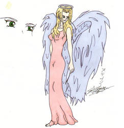 Anime Angel In Color