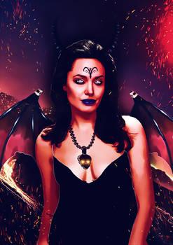 Demon girl...