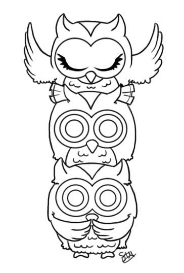Owls See Hear Speak No Evil By Stupid Ism On Deviantart