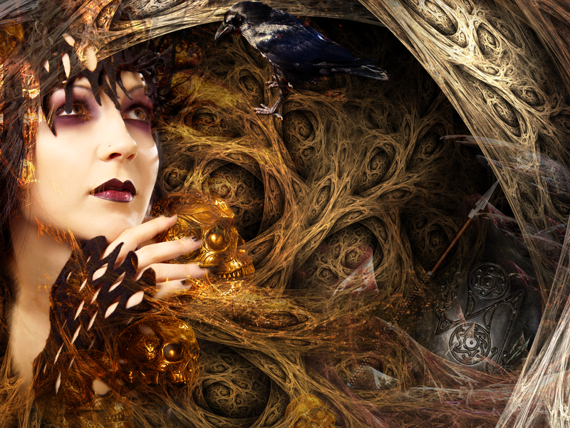 The Goddess Morrigan by wintersmagic