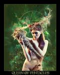 Tarot-Queen of Pentacles