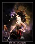 Tarot-Six of Swords