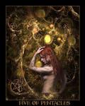 Tarot-Five of Pentacles