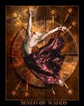 Tarot-Seven of Wands