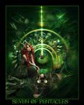 Tarot-Seven of Pentacles