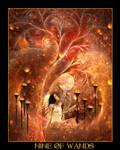 Tarot-Nine of Wands