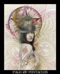Tarot-Page of Pentacles
