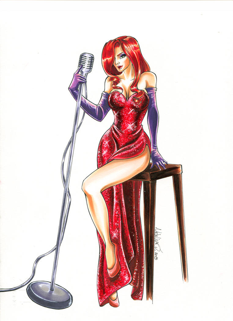 Jessica Rabbit  by kaarin91