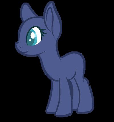 mlp base earth pony by cinnaswirl on deviantart