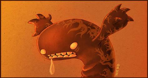 monstruo babeante by rickrd