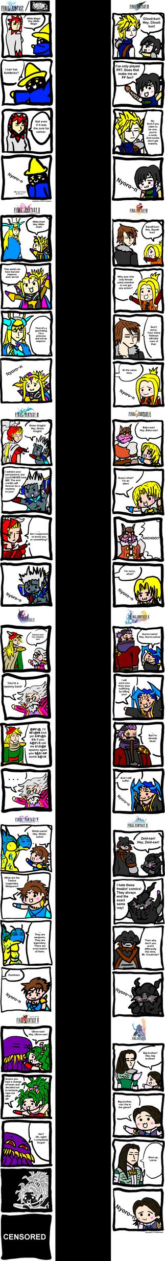 Final Fantasy Nyoro-n JumboPak by Sephiroth7734