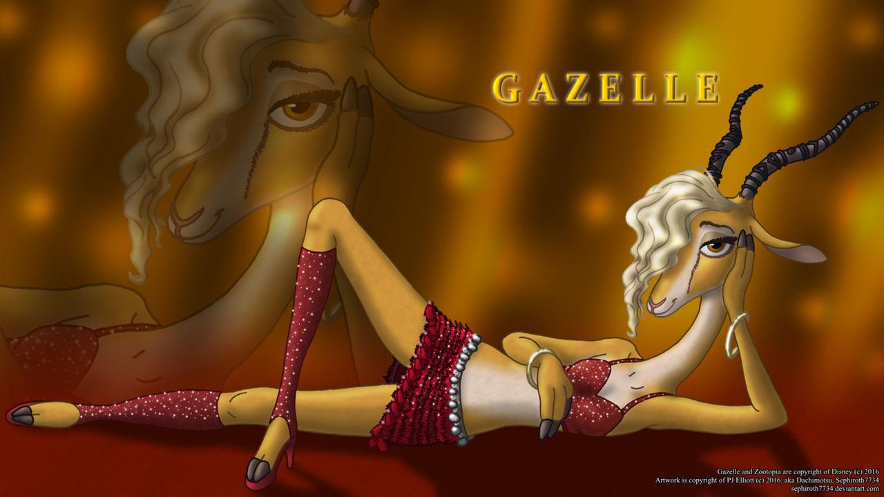 Gazelle, Zootopia Wallpaper (16:9)