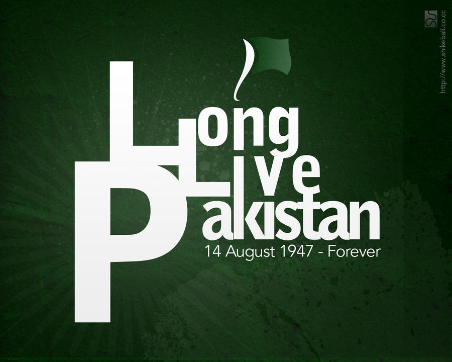 Long Live Pakistan by Shikeb