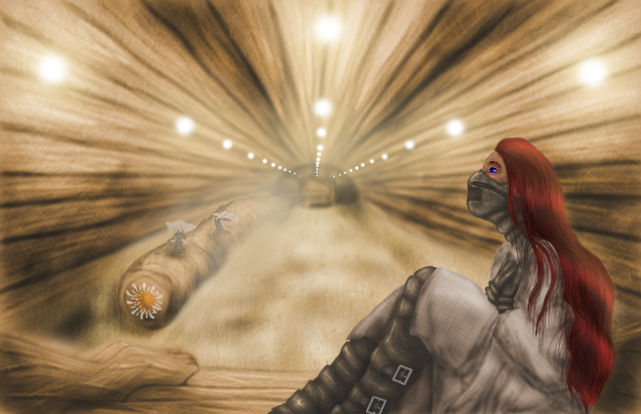 Arrakis subway by GemDeDude