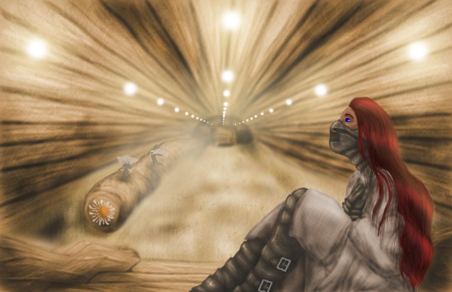 Arrakis subway by GemDeDude