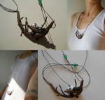 Clay Panda pendant by ALINAFMdotRO