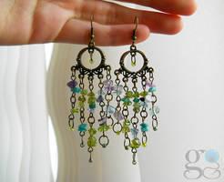 Gaia earrings by ALINAFMdotRO