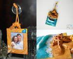 I love the sea - picture frame