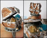 Treasures chest ring