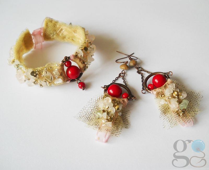 Jewelry set by GemDeDude