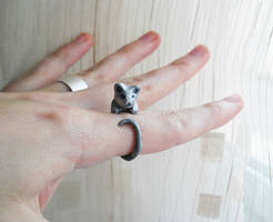 Kitty ring by ALINAFMdotRO