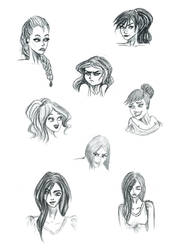 Faces by ieatpaintthings