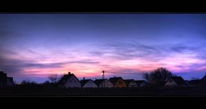 Hajos sunset by NorbertKocsis