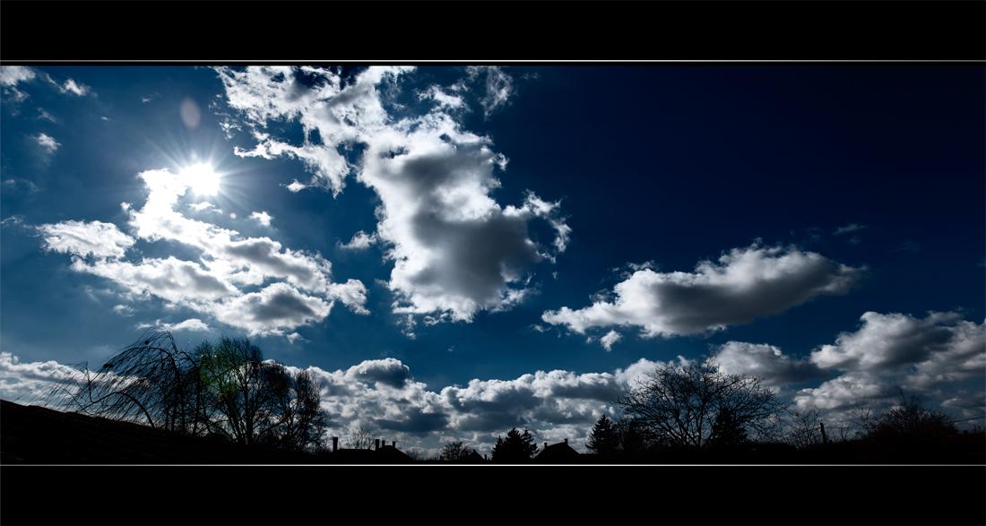 Kecel skies by NorbertKocsis