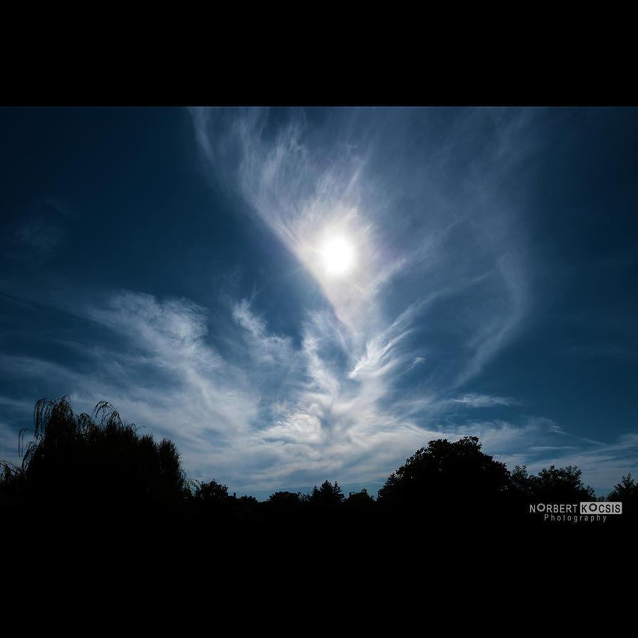 Kecel skies XIII by NorbertKocsis