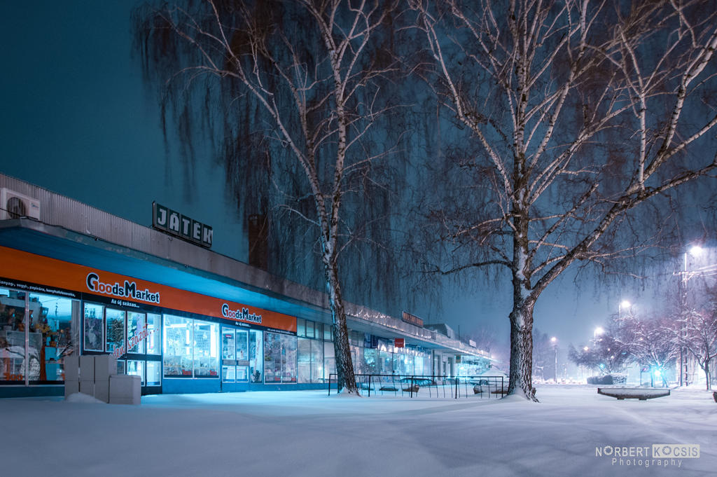 Spring snow by NorbertKocsis