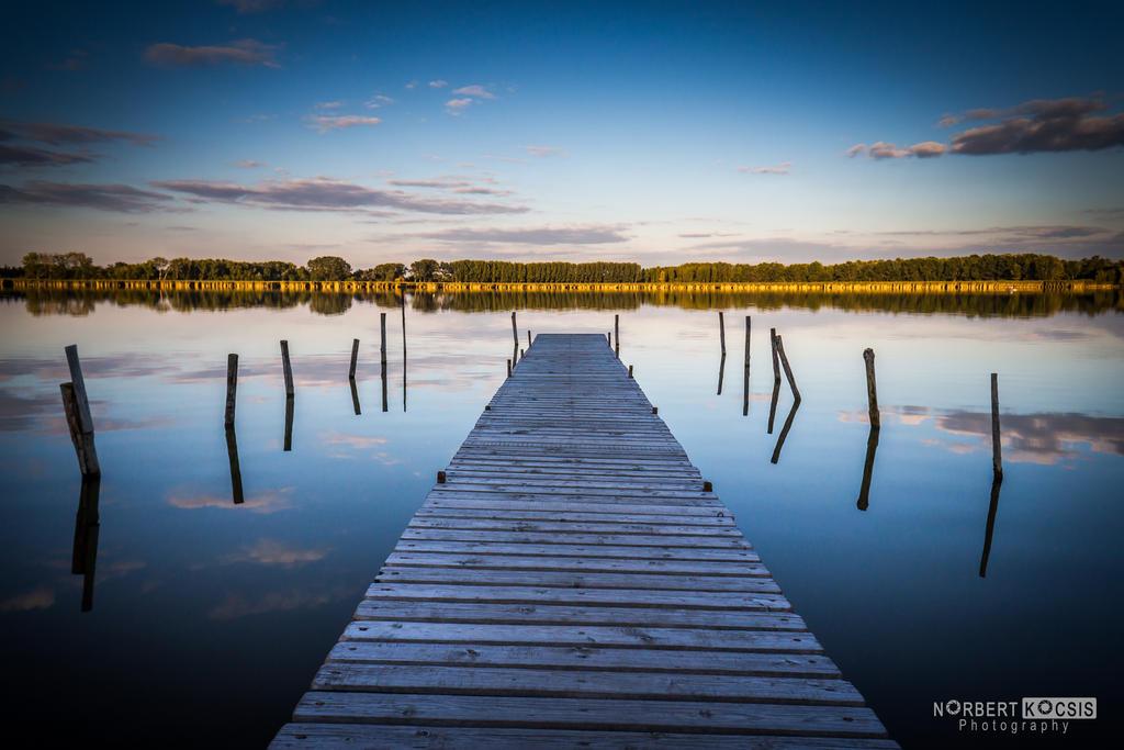 Empty pier by NorbertKocsis