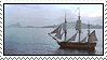 Patrick O'Brian books stamp by nezukuro