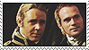 Aubrey and Maturin stamp by nezukuro