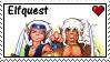 Elfquest stamp by nezukuro