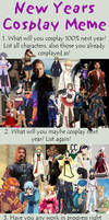 New Year's Cosplay meme 2013