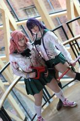 Highschool of the Dead by nezukuro