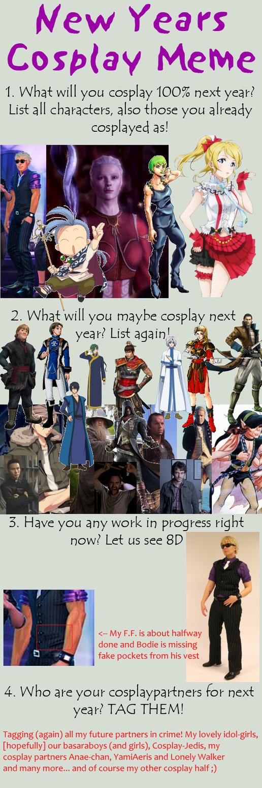 Next Year  s Cosplay Meme 2015 by nezukuro